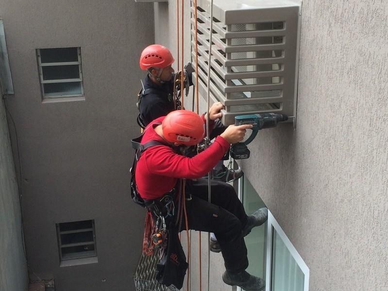 Empresas de alpinismo industrial