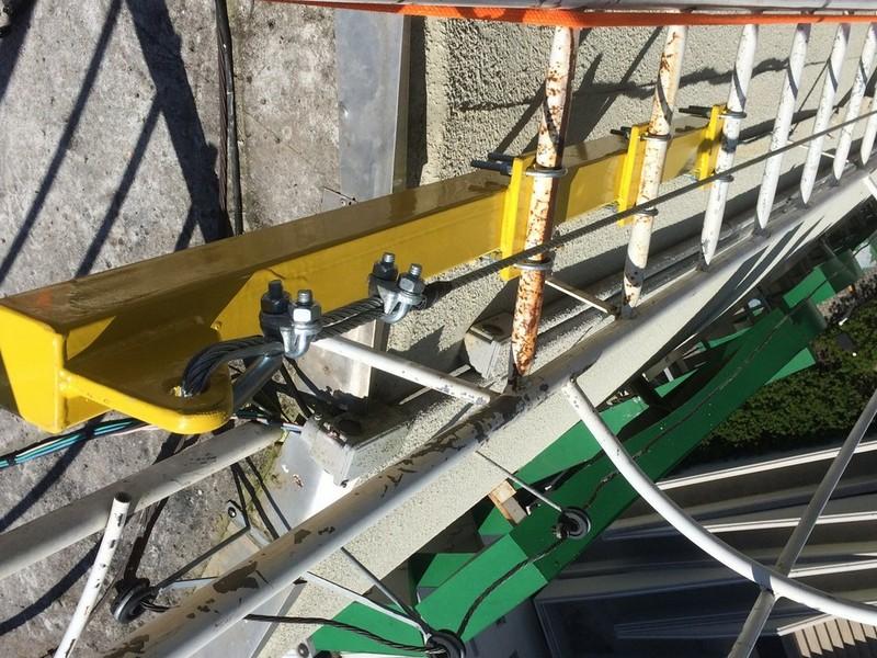 Sistema de ancoragem para trabalho em altura
